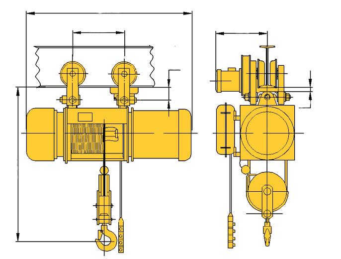 Таль электрическая (тельфер) ТЭ320