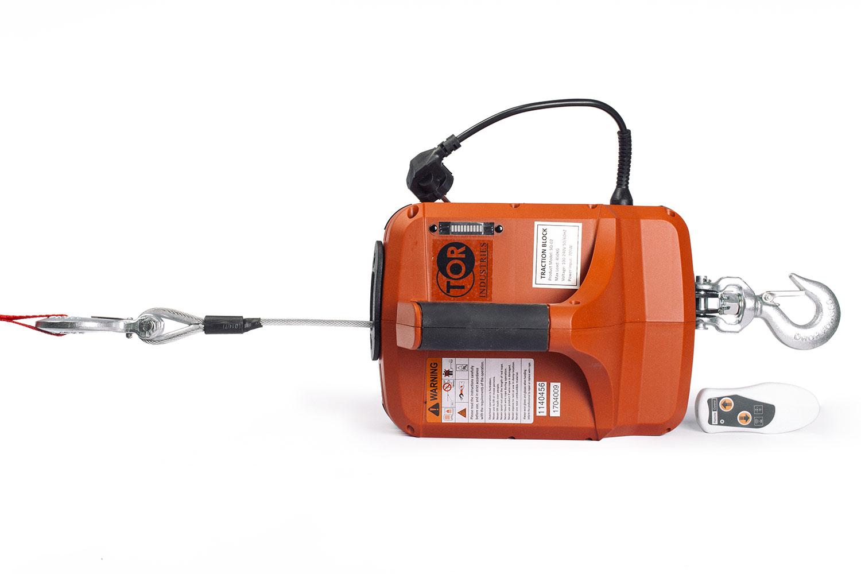 Лебедка электрическая переносная TOR SQ с пультом