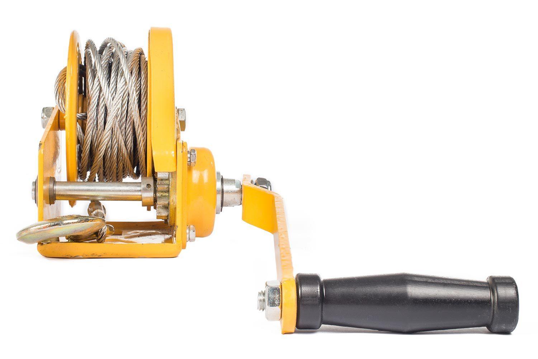 Лебедка ручная барабанная BHW-1200