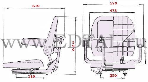 Сиденье-машиниста-У7930.04В-01-чертеж